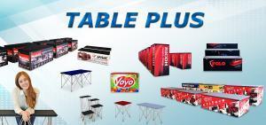 TABLE โต๊ะ โต๊ะพับ โต๊ะสำเร็จรูป โต๊ะมิกซ์ โต๊ะเอนกประสงค์ โต๊ะแสดงสินค้า โครงขาทำจากอลูมิเนียมชุบหนาพิเศษ กันรอยขูด ขีด ข่วน วางสินค้าโชว์ โต๊ะออกบูธ โต๊ะแสดงสินค้า โต๊ะวางลำโพง โต๊ะมิกซ์ เครื่องเสียง Event