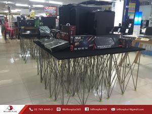 โต๊ะเอนกประสงค์, โต๊ะแสดงสินค้า,เวทีสำเร็จรูป, โต๊ะขนาด 40x40,โต๊ะขนาด 60x60,โต๊ะขนาด 40x80,TABLE, table display,โต๊ะ, โต๊ะพับ, โต๊ะสำเร็จรูป, โต๊ะมิกซ์,โต๊ะวางมิกซ์,โต๊ะวางมิกซ์เซอร์